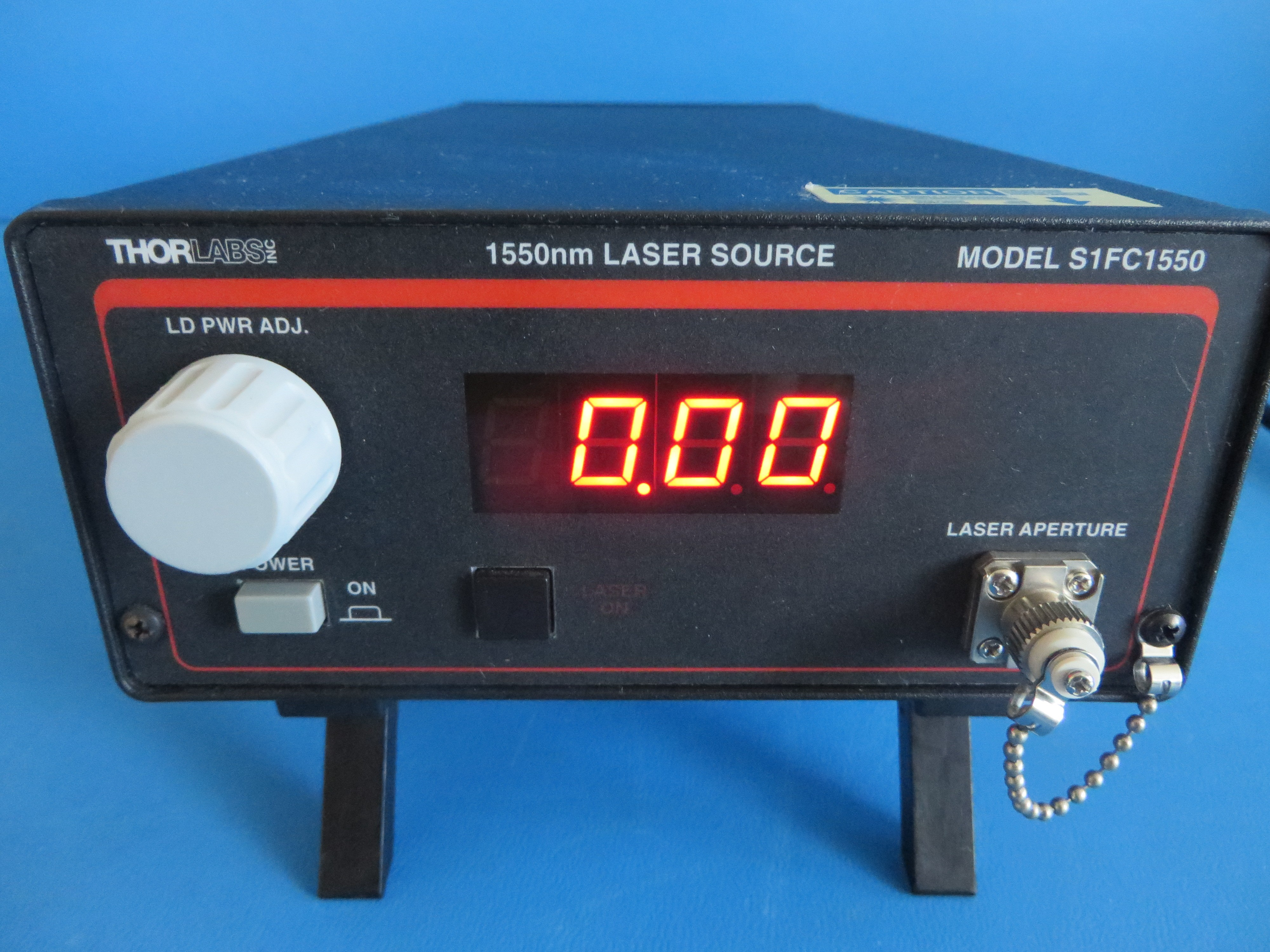 Thorlabs S1FC1550 Laser Source 1550 nm Silicon Valley Techparts