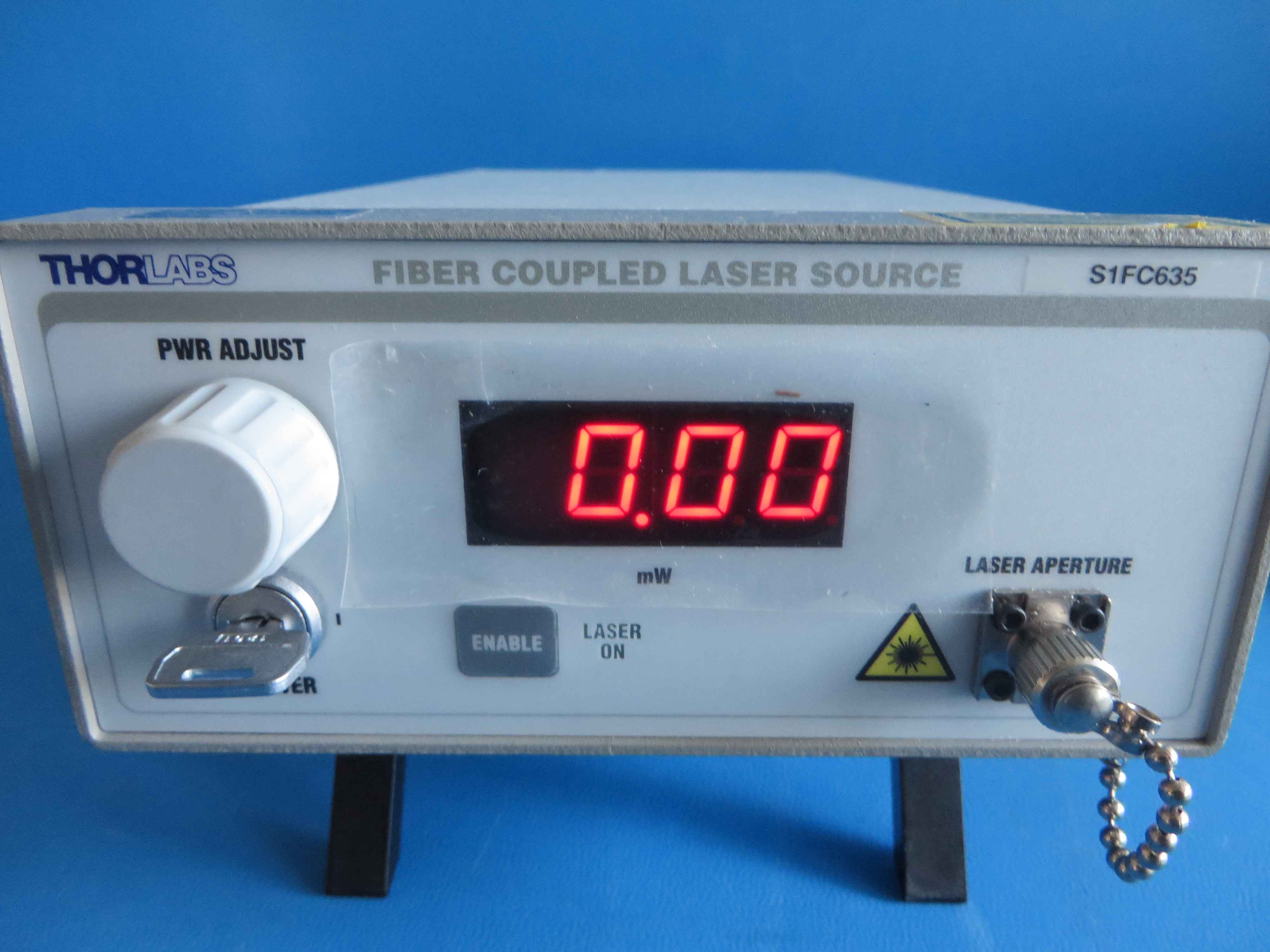 Thorlabs S1FC635 Fiber Coupled Laser Source 635 nm - Test-Equipment