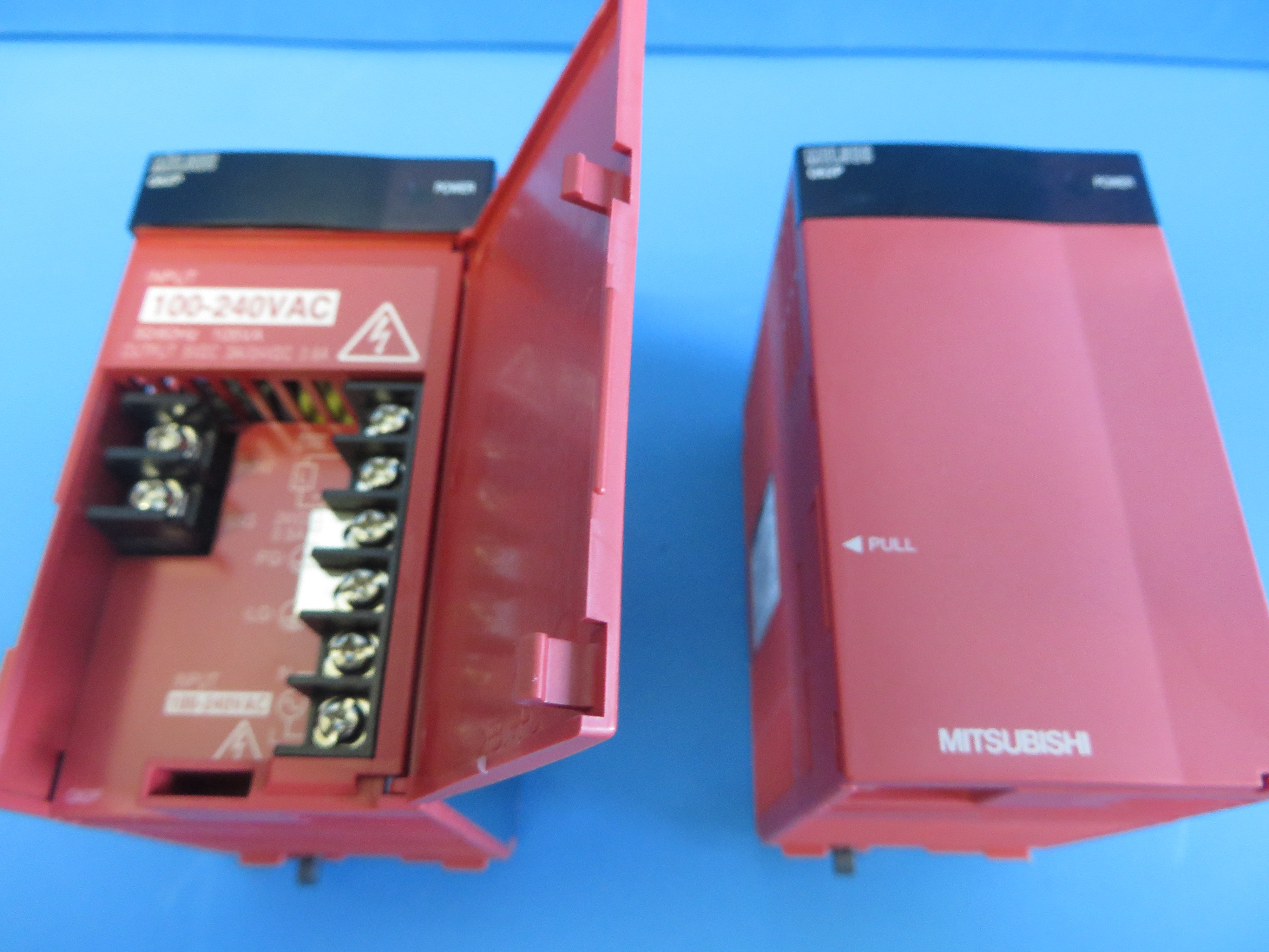 mitsubishi q62p power supply lot of 2 power supplies browse