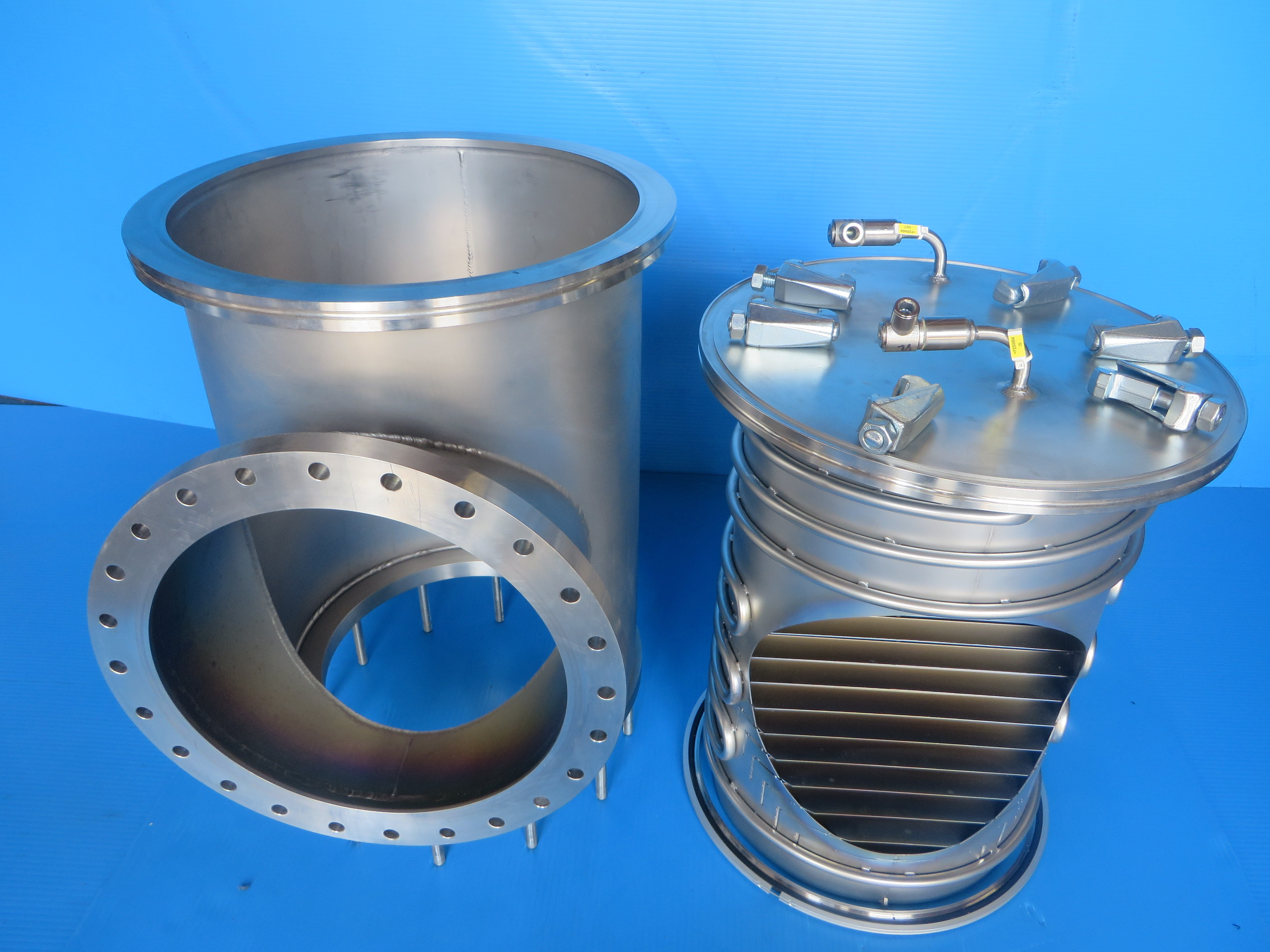 Leybold UHV Reactor and Chamber - ISO-320 Top ISO-250 Side and Bottom