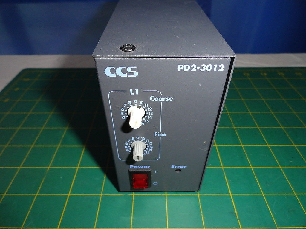 CCS PD2-3012 Power Supply / LED Light Source Input 110VAC Output 12VDC