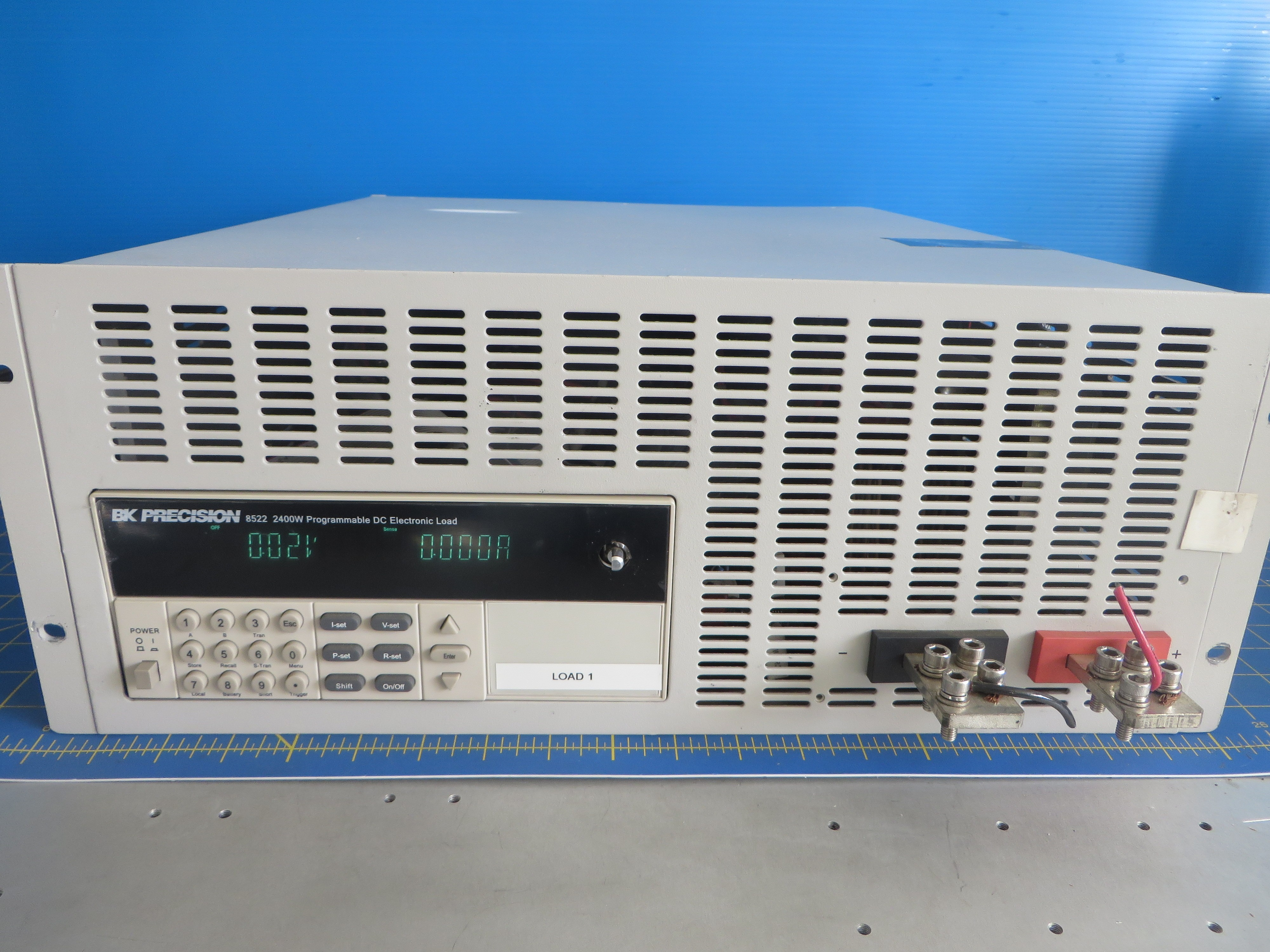BK Precision 8522 Programmable DC Electronic Load Generator 2400W 120A