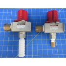 SMC VHS50-N10Z Air Lockout Valve w/ Fittings - Lot of 2