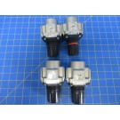 SMC AR40-04E Pneumatic Regulators - Lot of 4