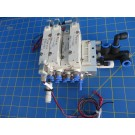 SMC SY7250R-5LZ-03 SY7140-5HZ Solenoid Valves w/ Manifold & Fittings