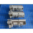 Omron SRT2-ID16-T Transistor Remote Input Terminal Block 4 mA 24 VDC - Lot of 3