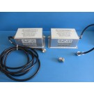 Unaxis Balzers TPF-01-0109-9579 Low Pass RF Filters 13,56 MHz / 5kW 2 w/ Cables