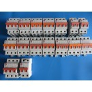 LS Industrial BKN 400V Miniature Circuit Breaker C16 C10 C6 and C4  - Lot of 16